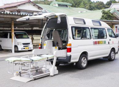 月給25万円可!昼間勤務で稼げる介護タクシー乗務員(ドライバー)