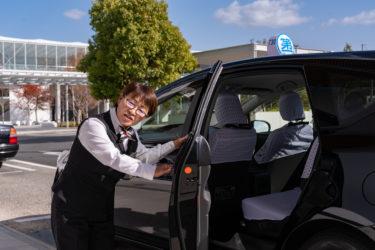 70歳まで働ける!短時間勤務、パートタクシードライバー(運転手)美祢市